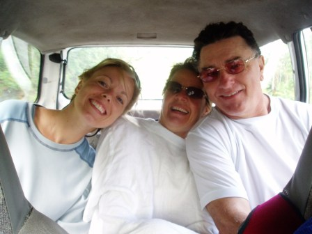 Steve and Judi Ferguson with Kristene Perron in Panama
