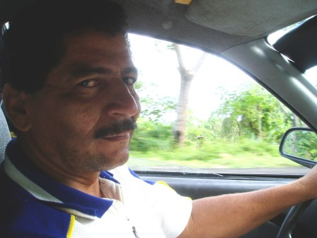 Taxi driver in Panama