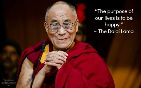 Dalai Llama on happiness