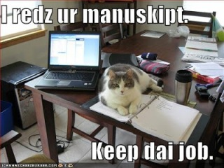 cat manuscript writing group