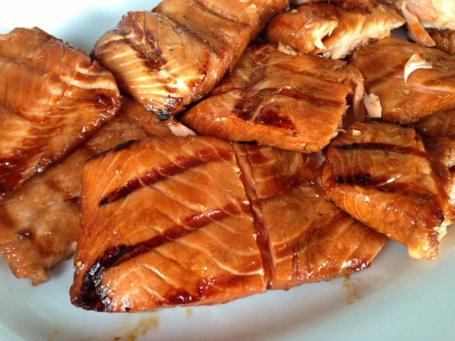 Best BBQ salmon recipe Megan McLeod