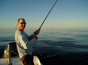 Fred Perron fishing Ucluelet