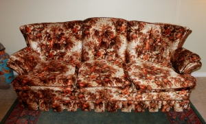Ugly floral couch