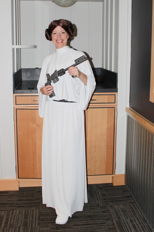 Kristene Perron as Princess Leia