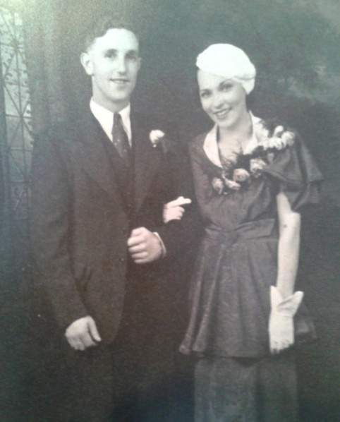 Dorothy Mason nee Armstrong and Husband