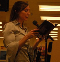 Sandra Wickham reading