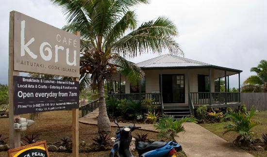 Koru Cafe Aitutaki Cook Islands